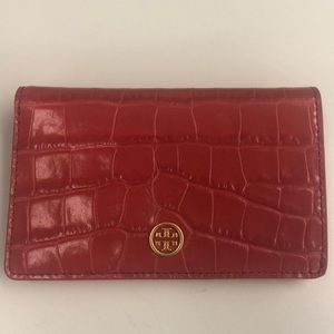 Tory Burch Parker Embossed Medium Slim Wallet